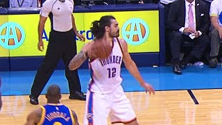 Download Steven Adams Tosses Fastball Pass to Andre Roberson Video