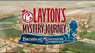 Download LAYTON'S MYSTERY JOURNEY™: Katrielle and the Millionaires' Conspiracy Trailer Video