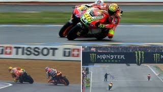 Download Best Battles of 2012: Valentino Rossi vs Casey Stoner in Le Mans Video