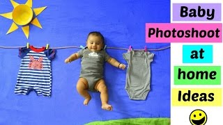 Download Baby Photoshoot at Home Ideas: You will love this !! Video