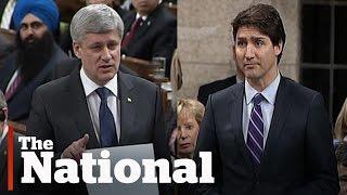 Download Stephen Harper, Justin Trudeau face off over niqab debate Video