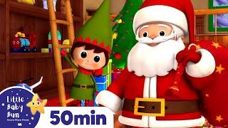 Download Jingle Bells | Christmas Songs | Plus Lots More Children's Songs! | 55 Mins from LittleBabyBum! Video