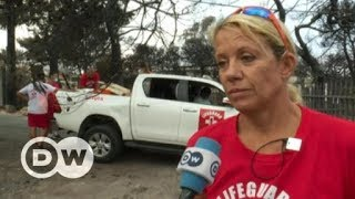 Download Greece: Tragic fires leave coastal town to gather its dead | DW English Video
