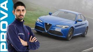 Download Alfa Romeo Giulia Veloce Q4 | Come vanno il benzina 280 CV e il diesel 210 CV Video