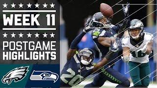 Download Eagles vs. Seahawks | NFL Week 11 Game Highlights Video