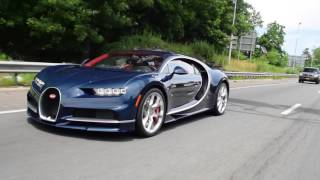 Download Driving with a Bugatti Chiron! FULL THROTTLE Acceleration onto Highway! Video