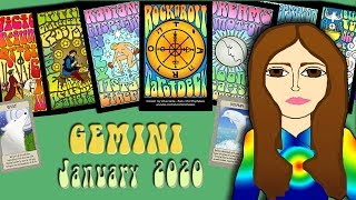 Download GEMINI JANUARY 2020 Flying Colors! - Tarot psychic reading forecast predictions Video