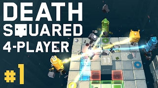 Download Death Squared - #1 - Co-op Puzzle Cubes! (4 Player Gameplay) Video