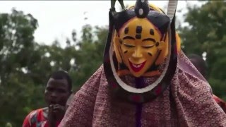 Download Zaouli dancers and musicians of Côte d'Ivoire: SBS Reporter Alex Parry reports from Africa Video