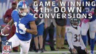 Download Game-Winning 4th Down Conversions Since 2000 | NFL Highlights Video