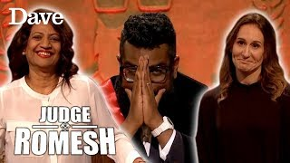 Download Romesh's MUM & WIFE Enter The Court! | Judge Romesh Video