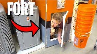 Download FORT IN HIDDEN SECRET DOOR! Video