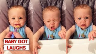 Download Babies Trying Things For the First Time | Funny and Cute Baby Compilation Video