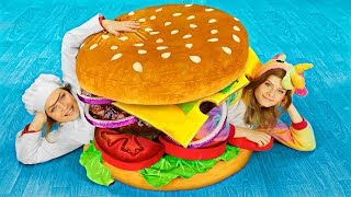 Download DIY Worlds Largest Squishy / Giant Squishy Food Video