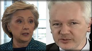 Download JULIAN ASSANGE JUST UNLEASHED A HELLISH SURPRISE ON HILLARY CLINTON… THIS IS HUGE Video