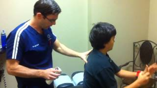 Download Chiropractic Adjustment to Release Pain in Neck Video