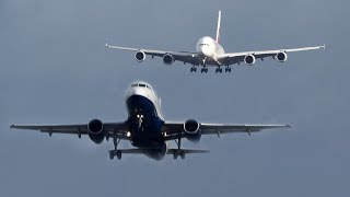 Download AIRBUS A380 vs. AIRBUS A319 - I AM BEHIND YOU, BROTHER (4K) Video