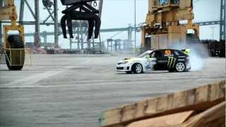 Download Ken Block Gymkhana II (Subaru Impreza WRX STI '08, 566 hp) Video