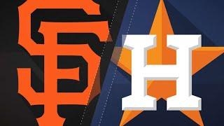 Download Verlander, Springer spark Astros past Giants: 5/23/18 Video