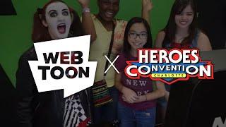 Download WEBTOON at HeroesCon 2018 Video