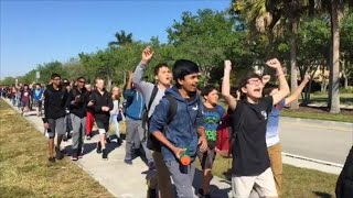 Download National Walkout Day: Students call for safety, gun control Video