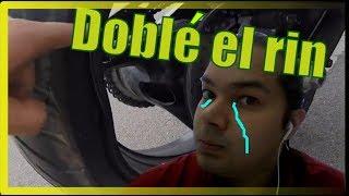 Download EL HUECO  dañe el rin de mi GSR 750  Dc llantas Video