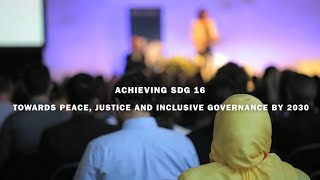 Download SIPRI Searchlight: Towards peace, justice and inclusive governance by 2030 Video
