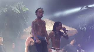 Download Rae Sremmurd Sway Lee gets hit in the face with phone thrown from crowd Dallas Video