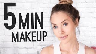 Download QUICK & EASY 5 MINUTE MAKEUP TUTORIAL! Video