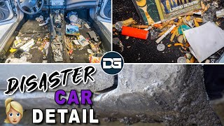 Download Deep Cleaning a SMOKER'S Dirty Car   DISASTER Car Detailing & Complete Vehicle Transformation! Video