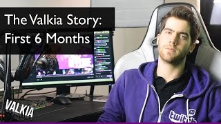 Download The Valkia Story: First Six Months [Twitch Streaming Documentary]    How to grow a twitch stream Video
