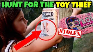 Download TOY THIEF OPENS OUR LOL DOLLS!! LOL SURPRISE SERIES 4 | Episode 3: HUNT for Game Master Video