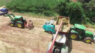Download Fendt 826 S4 IRG(italian rye grass) picking up and silage 팬트 826 라이그라스 픽업 사일리지 Video