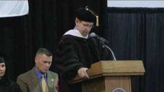 Download The Benefits of Education - Dr. John LaNear at 2009 Commencement Ceremony Video