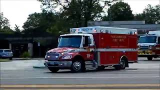 Download Northbrook IL Fire Department Ambulance 10 Transporting Video