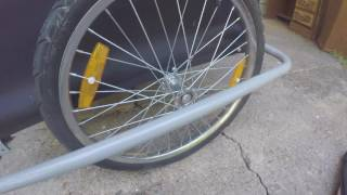 Download Cargo Utility Trailer for Bicycles - Who Needs A Car Anyway! Video