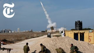 Download Iron Dome in Action in Israel: Shooting Down Rockets | The New York Times Video