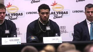 Download Oregon Vegas Bowl Press Conference Video