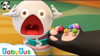Download Baby Panda Makes Colorful Clothes for Candies | Panda's Dessert Shop | Kids Cooking | BabyBus Video