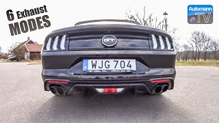 Download 2019 Ford Mustang GT (450hp) - pure SOUND (60FPS) Video