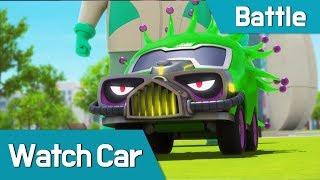 Download [Watch car Battle Scene14] Bluewill, Avan, Poti, Sona VS Monster-Car Video