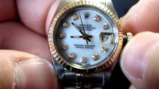 Download How to Wind and Set a Ladies Rolex Datejust Quickset Video