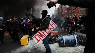 Download Anti-Trump protesters face rioting charges Video