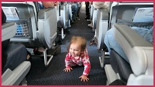 Download ✈️ BABY ESCAPES HER AIRPLANE SEAT! Video