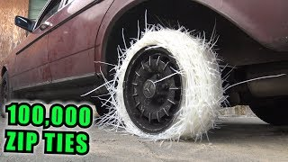Download We Made a TIRE Out of ZIP TIES Video