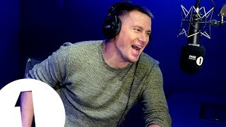 Download Channing Tatum helps man propose to girlfriend on BBC Radio 1 Video