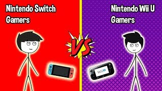 Download Nintendo Switch Gamers VS Wii U Gamers Video