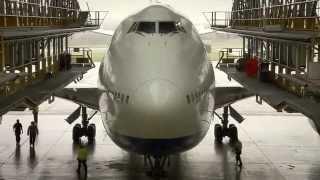 Download British Airways Boeing 747-400 in D-Check Video