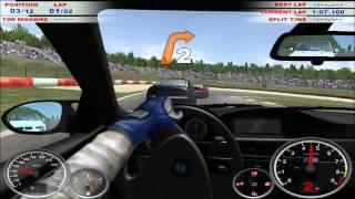 rFactor BMW E36 Compressor 520 HP Drift Free Download Video