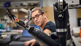 Download Will a robotic arm ever have the full functionality of a human limb? Video